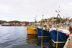 Oban港口, Oban, Argyle,苏格兰 2015年8月28日 免版税图库摄影