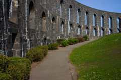 Oban. Image of McCaigs tower in Oban, on Scotlands west coast royalty free stock photos