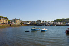 Oban Bay. A view across Oban Bay in Scotland Stock Images