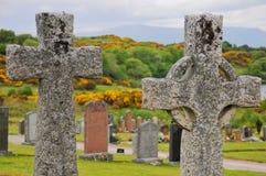 Oban cemetery, Scotland Royalty Free Stock Photo