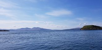 Scottish Seaview royalty free stock photo