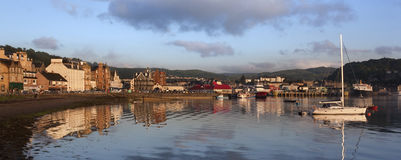 Oban - Escocia Foto de archivo