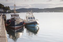 Oban Harbor, Royalty Free Stock Photo