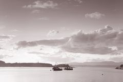 Oban Harbor, Scotland Royalty Free Stock Photography