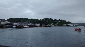 Oban Harbour. The Harbour at Oban Royalty Free Stock Photos