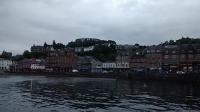 Oban Harbour. The Harbour at Oban Stock Photography