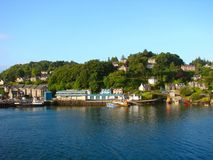 Oban Harbour royalty free stock photos