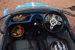 Oban Zjednoczone Królestwo, Luty, - 20, 2010: pasażerski przedział samochód Zestawu samochodu wnętrze Rzadki samochód Pusty samoc Fotografia Royalty Free