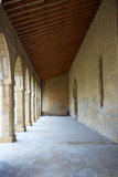 Obanos church in Saint James Way at Navarra Royalty Free Stock Photos