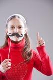 Obbedisca a ai miei baffi, la gente! immagine stock libera da diritti