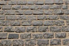 Ð¡obblestone pavement. Сobblestone pavement pattern texture background image royalty free stock photos