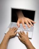 Obbligazione del Internet Fotografia Stock Libera da Diritti