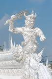 Obbligazione gigante Wat Rong Khun Chiang Rai Tailandia Fotografia Stock Libera da Diritti