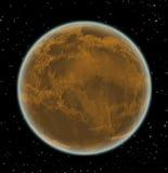 Obca planeta w przestrzeni Fotografia Royalty Free