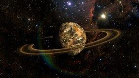 Obcego Exo planeta Zdjęcia Stock