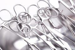 Obchodzi się chirurgicznie instrumenty obrazy royalty free