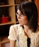 obcojęzyczna kobieta Zdjęcia Royalty Free