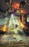 Obcy apocalypse royalty ilustracja