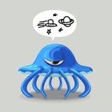 Obcy Jello ilustracja wektor