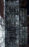 Obcy miasto - fantazj struktur 3d miastowy rendering ilustracja wektor