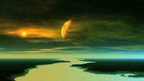 Obcy planeta komes Z cienia zbiory wideo