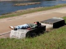 Obdachloser 2 stockbilder
