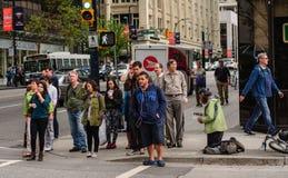 Obdachloser ignoriert Lizenzfreie Stockbilder