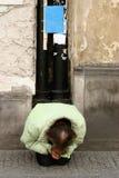 Obdachloser IV lizenzfreies stockbild