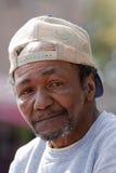 Obdachloser Mann stockfoto