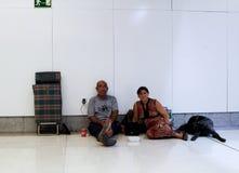 Obdachloses Leben 019 Stockbild