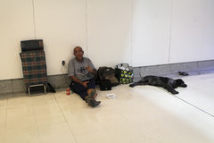 Obdachloses Leben 023 Lizenzfreie Stockbilder
