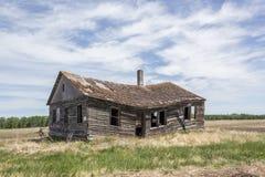 Obdrapany dom Zdjęcie Royalty Free