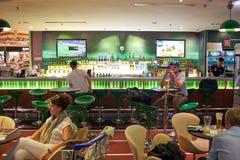 Obecnie lotnisko trzy operacyjnego terminalu Zdjęcie Royalty Free