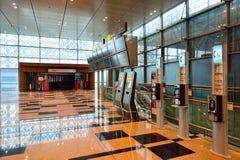 Obecnie lotnisko trzy operacyjnego terminalu Obraz Royalty Free