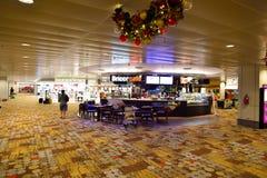Obecnie lotnisko trzy operacyjnego terminalu Zdjęcia Royalty Free