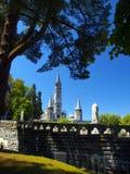 obefläckad basilicabefruktning Royaltyfri Fotografi