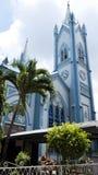 Obefläckad befruktningdomkyrka i Puerto Princesa Arkivbilder