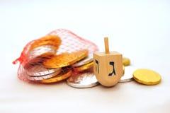 Obejects isolado para Hanukkah Imagens de Stock Royalty Free