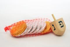 Obejects isolado para Hanukkah Imagem de Stock