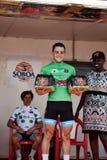 Obejmuje Światowego kolarstwo przy wycieczką turysyczną du Senegal 2017 Zdjęcie Stock