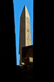 Obelischi Luxor Egitto Fotografia Stock