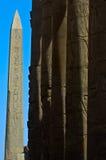 Obelischi Luxor Egitto Immagine Stock