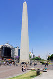 Obelisco Avenida 9 de Julio Photos stock