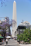 Obelisco Avenida 9 de Julio Royalty Free Stock Photos