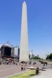 Obelisco Avenida 9 de Julio Stock Photos