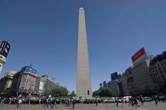 Obelisco, Buenos Aires Stockfotos