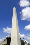Obelisco. Buenos Aires Argentina Arkivbilder