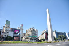 The Obelisco in Buenos Aires. Argentina Stock Image