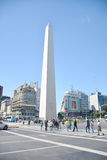 The Obelisco in Buenos Aires. Argentina Royalty Free Stock Photos