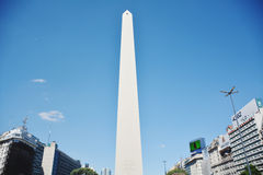 The Obelisco in Buenos Aires. Argentina Stock Photography